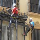 Aparejadores en las alturas, Trabajos Verticales en Sevilla