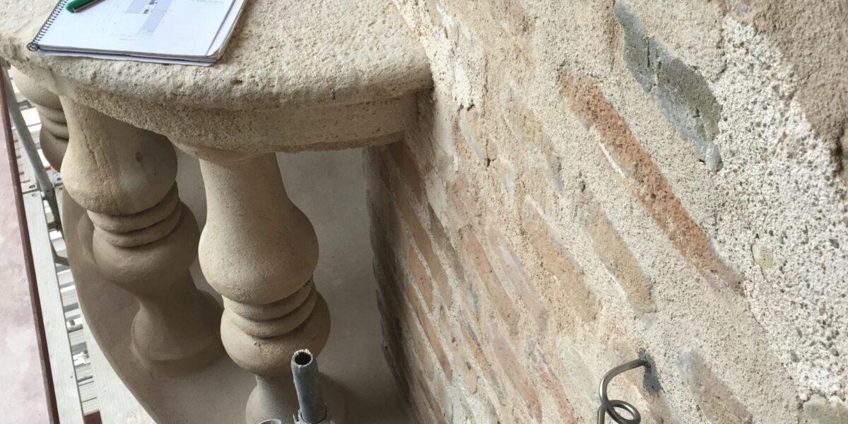 Asesor Técnico, instalación de sistema de desvio de cuerdas para los trabajos verticales. Giralda. Catedral de Sevilla.