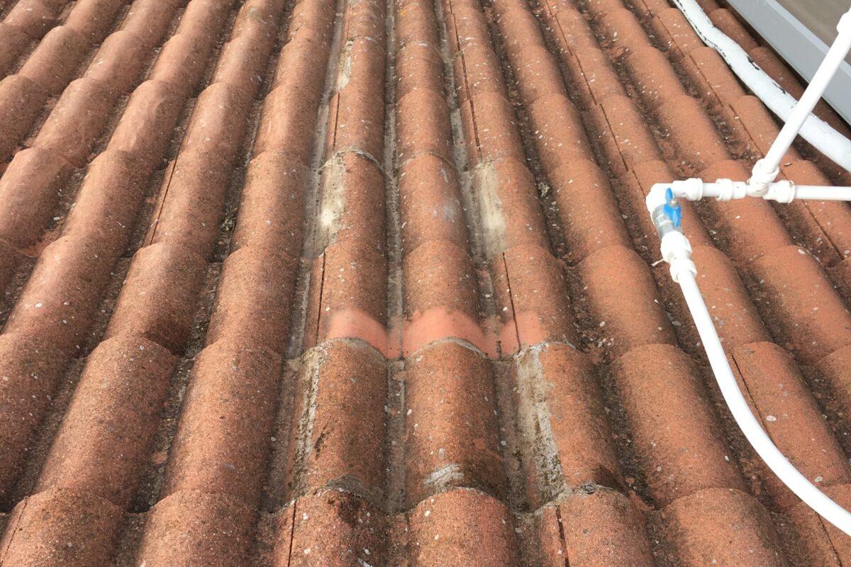 Sustitución y sellado de cubierta de tejas. Mairena del Aljarafe- Sevilla